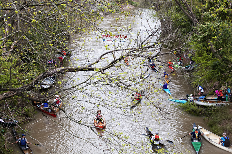 43rd Annual Buffalo Bayou Partnership Regatta @ Sesquicentennial Park