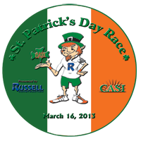 St. Patrick's Day Race Logo